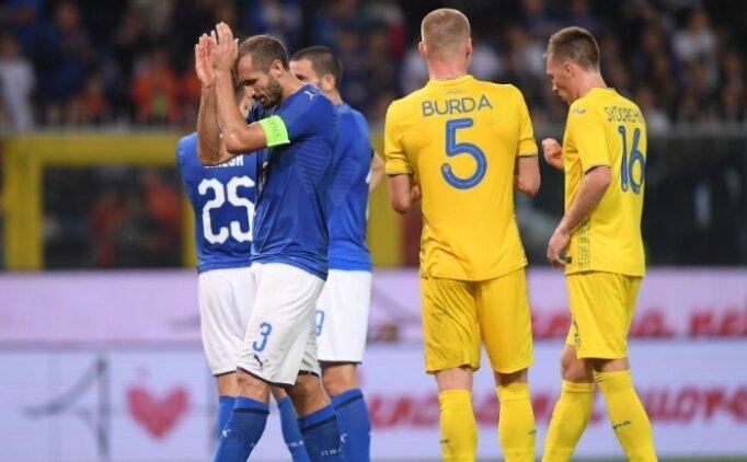 İtalya, Mancini ile galibiyeti unuttu! Ukrayna...