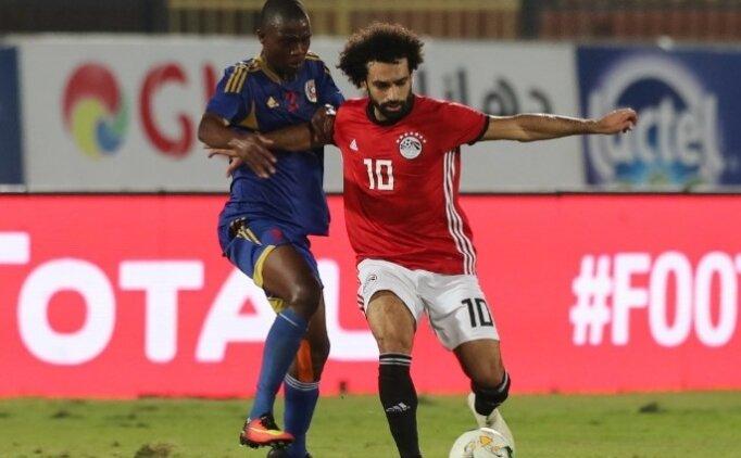 Salah kornerden attı, Mısır rahat kazandı!