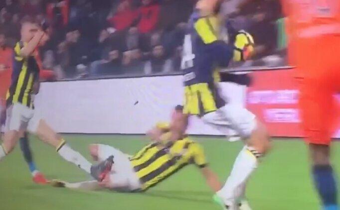 Başakşehir'in Fenerbahçe maçında penaltı isyanı