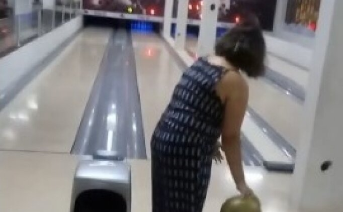 Bowlingde yılın atışı