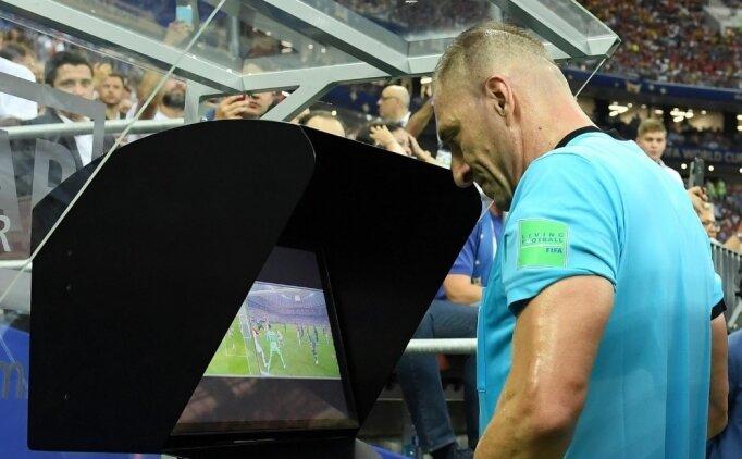 UEFA'dan Şampiyonlar Ligi için tarihi VAR kararı
