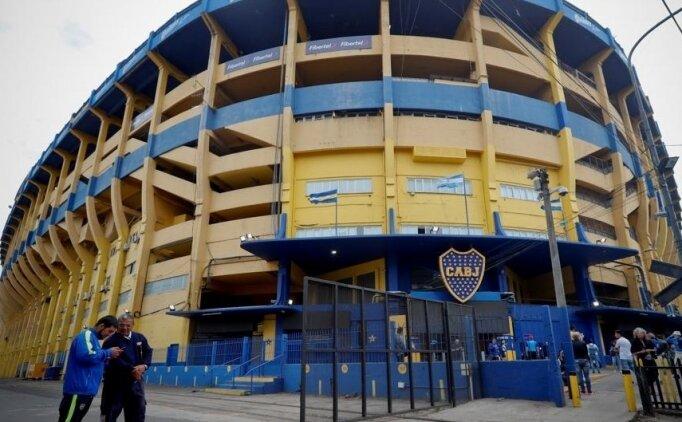 Boca Juniors'un sahası La Bombonera'da bomba ihbarı