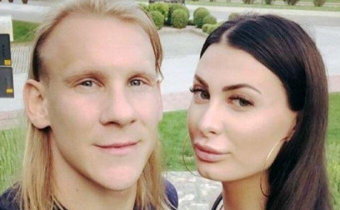 Domagoj Vida'nın eşi sinirlendi