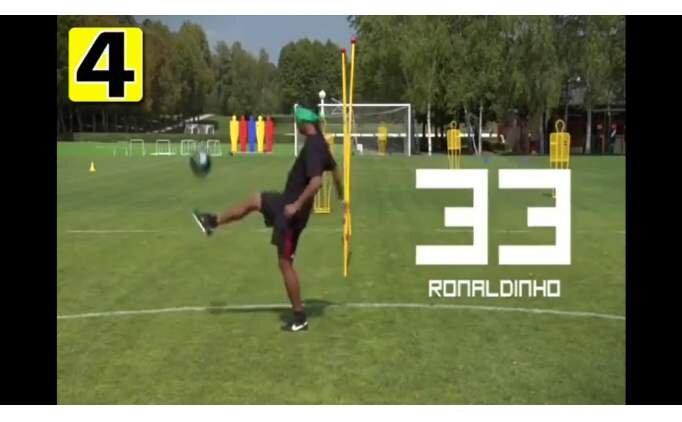 Form geçici ama klas kalıcı... Ronaldinho...