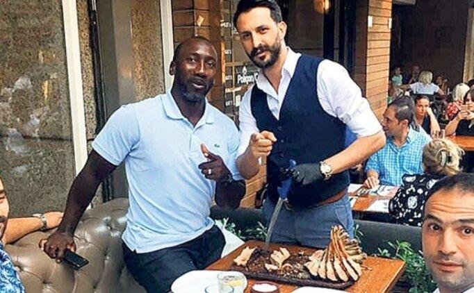 İstanbul'a geldi, 4 kilo et yedi!