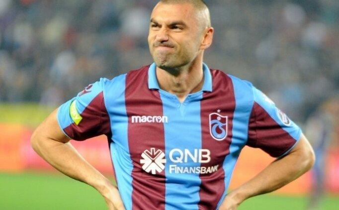 Trabzonspor'da Burak Yılmaz sorunu moralleri bozdu