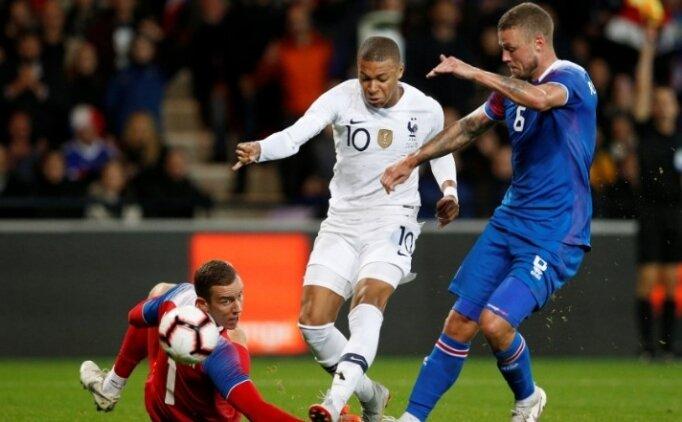 Fransa 4 dakikada 2 golle döndü! İzlanda...