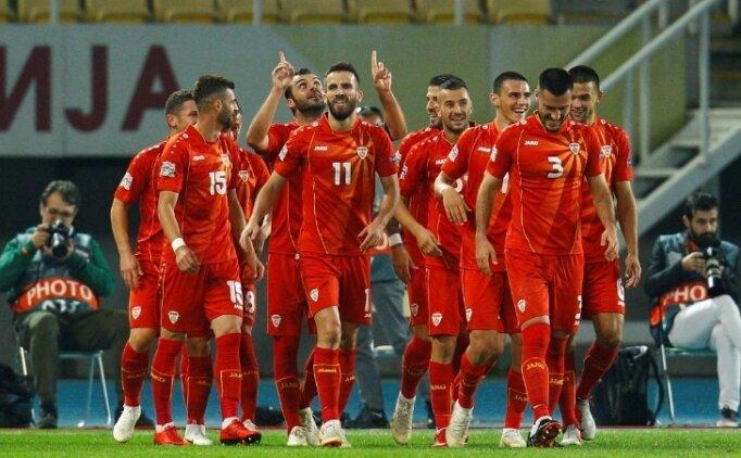 Eljif Elmas oynadı, Makedonya rahat güldü!