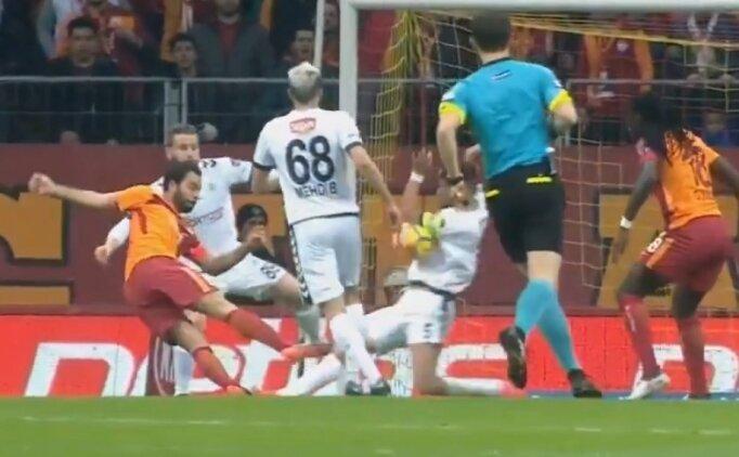 Galatasaray - Konyaspor maçında penaltı tartışması