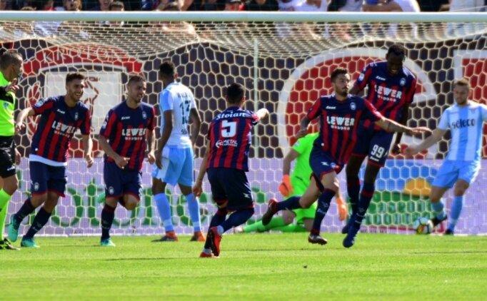 Lazio, Devler Ligi'ni son haftaya bıraktı