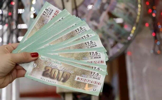 Milli Piyango yılbaşı çekilişi bilet sonuçları, sıralı liste millipiyango.gov.tr
