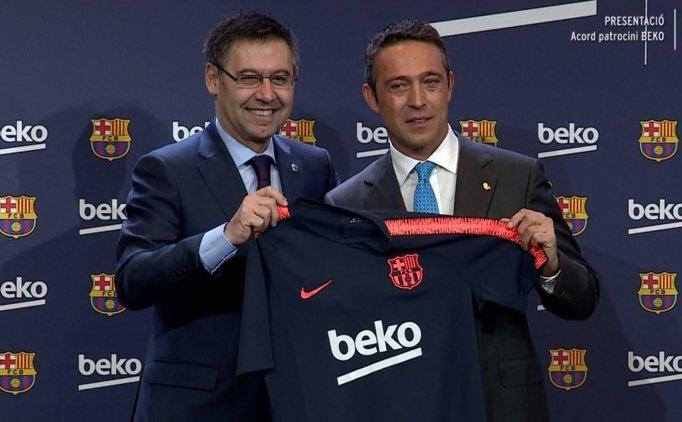 Fenerbahçe Başkan Adayı Ali Koç, Barcelona'da imzayı attı