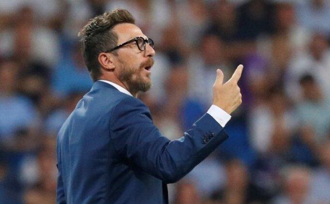 Eusebio Di Francesco: 'Rakip bizden çok üstün'