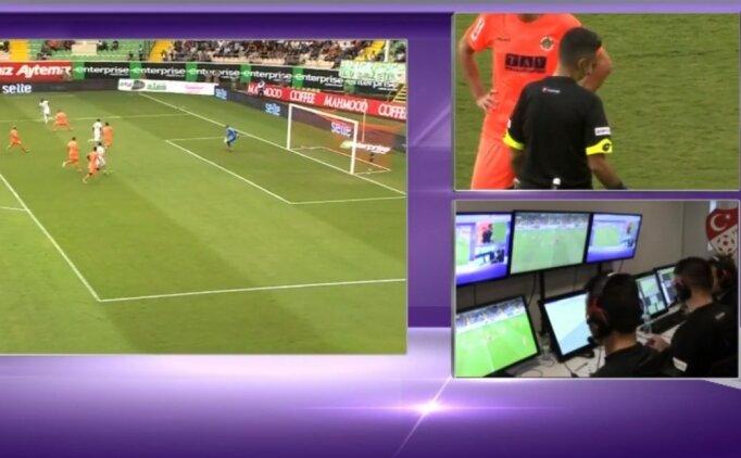 Antalyasporlu Maicon'un golünü VAR iptal etti