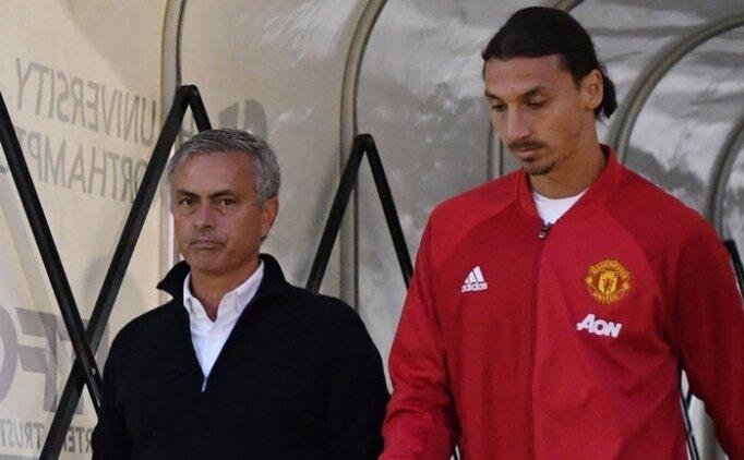 Ibrahimovic: 'Mourinho ve ben, kibirli değiliz'