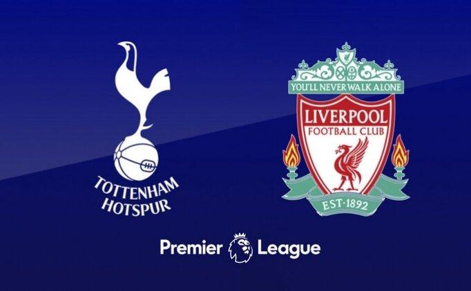 Tottenham Liverpool maçı canlı hangi kanalda saat kaçta?