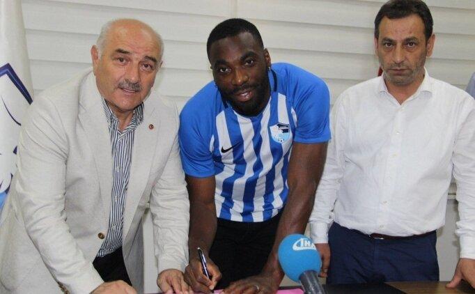 Erzurumspor'un yeni transferi Sunu: ''Şehir sempatik''