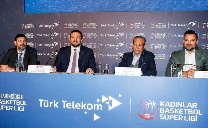 TBF ile Türk Telekom yayın anlaşması imzaladı