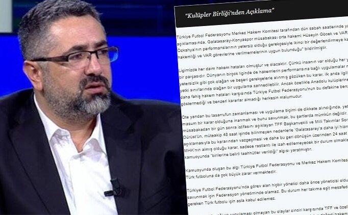 Serdar Ali Çelikler: 'Sami Dinç beni aradı ve açıkladı...'