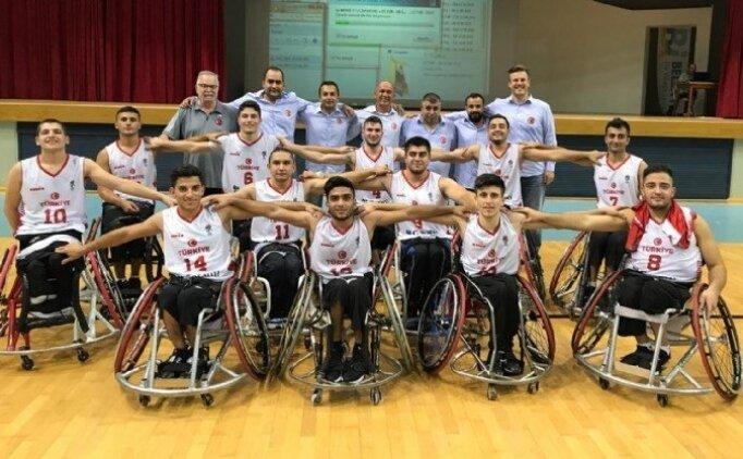 Milliler, Tekerlekli Sandalye'de Avrupa şampiyonu oldu!