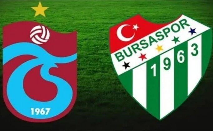 4 Kasım 2018 Pazar Trabzonspor 1-1 Bursaspor maçı geniş özeti , golleri, Burak Yılmaz tepki anları izle