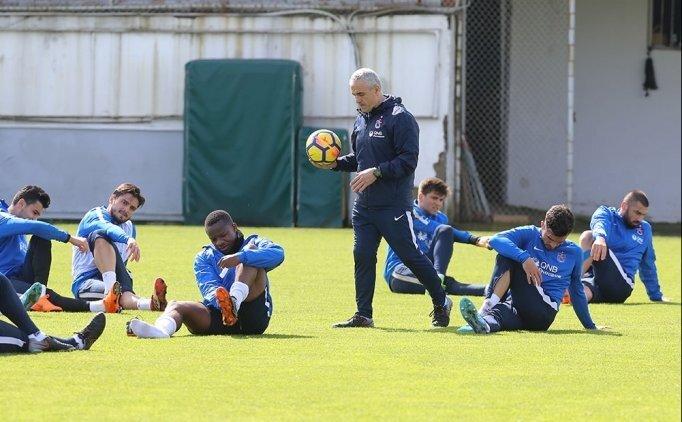 Trabzonspor Akhisar'a 5 eksikle çalıştı