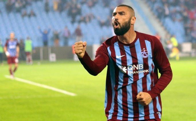 Trabzonspor'da Burak Yılmaz, yardımcı antrenör ile tartıştı!