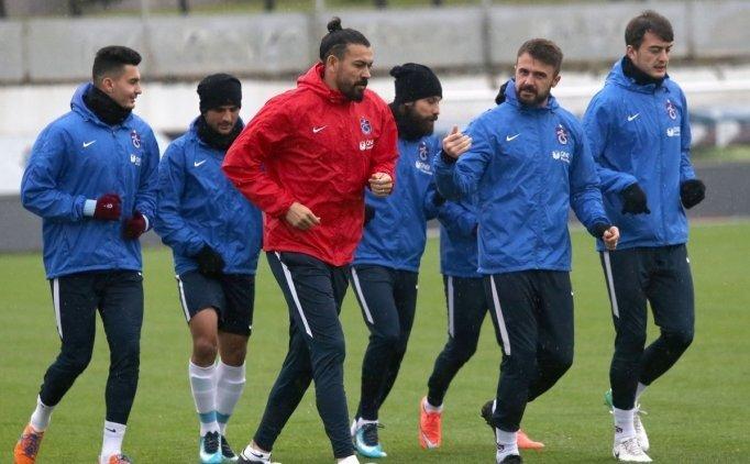 Başakşehir maçı öncesinde Trabzonspor'da 12 eksik