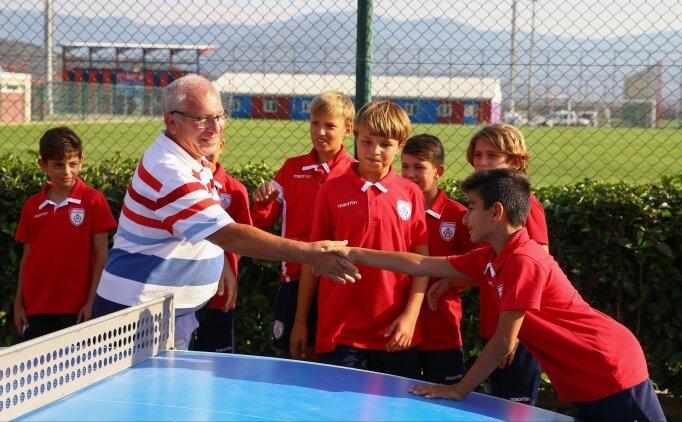 Altınordu'dan futbol eğitimi ve Cengiz - Bayern Münih açıklaması