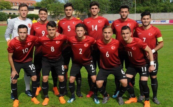 U18 Futbol Milli Takımı'nın aday kadrosu açıklandı