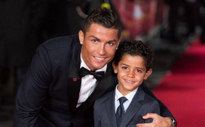 Cristiano Ronaldo: ''Oğlum benden daha iyi olacakmış...''