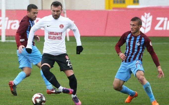 Ümraniyespor, Trabzon'u farklı geçti!