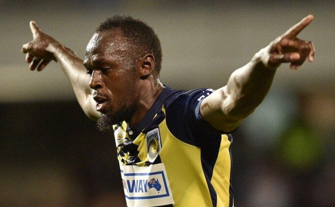 Usasin Bolt, kariyerindeki ilk golü attı!