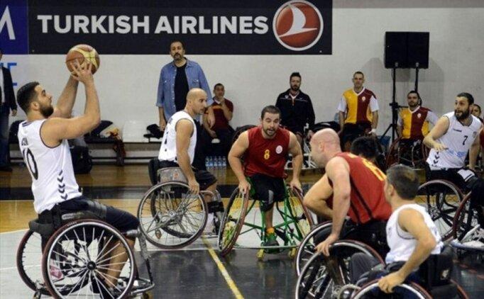 Tekerlekli sandalye basketbolda derbi heyecanı