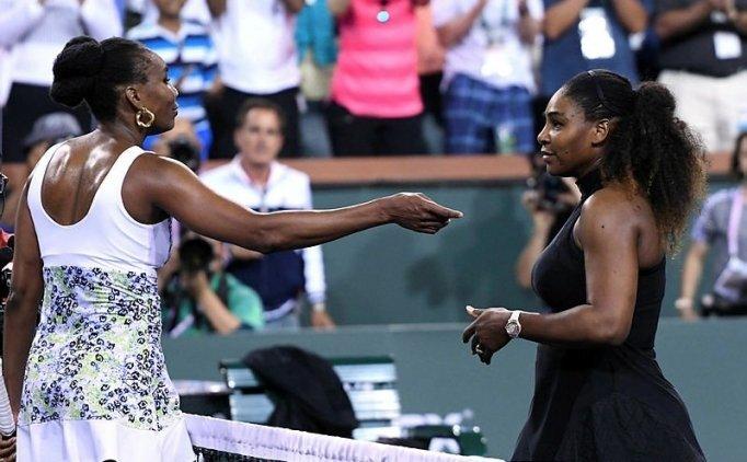 Serena Williams'a abla çelmesi