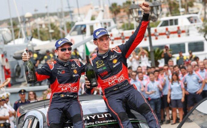 WRC İtalya Rallisi'ni Neuville kazandı