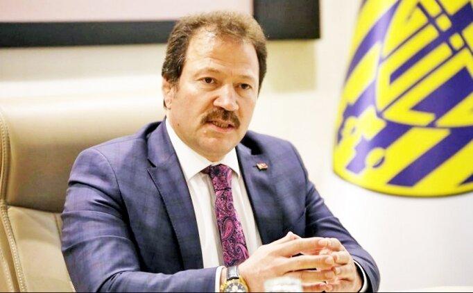 Mehmet Yiğiner'den UEFA ve destek açıklaması