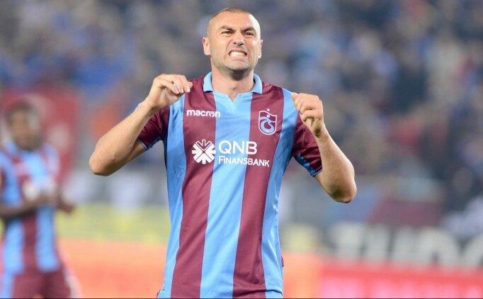 Trabzonspor'da Burak Yılmaz kararı! Kadroda yok...