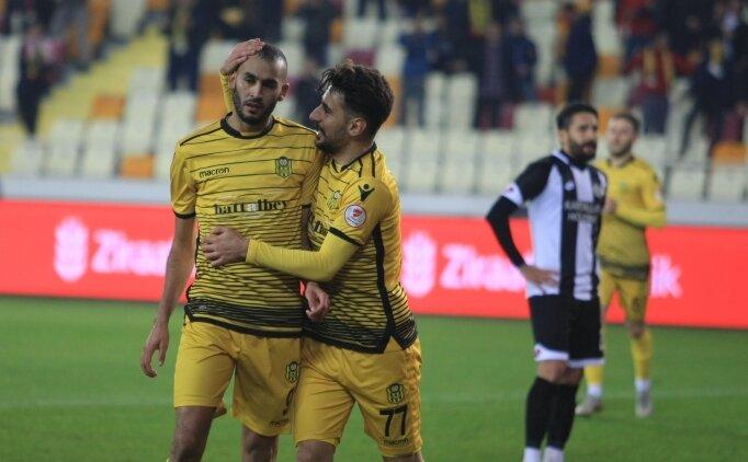 Yeni Malatyaspor, evinde avantajı yakaladı