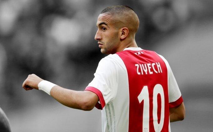 Ajax taraftarlarından Hakim Ziyech'e saldırı!