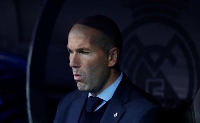 Zinedine Zidane, İspanyol basınına çok sinirli!