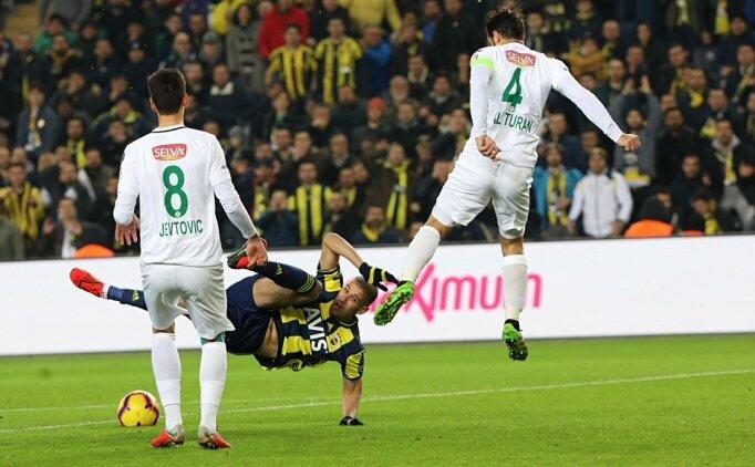 Süper Lig Fenerbahçe 1-1  Konyaspor maçı özeti, golleri izle