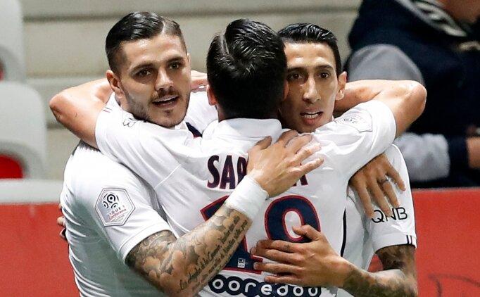 PSG, Nice engelini 4 golle aştı! 2 kırmızı kart...