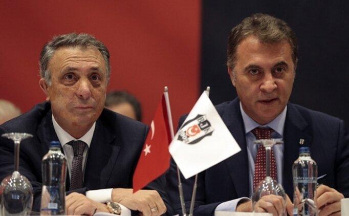 Beşiktaş'ta sahne başkan adaylarının
