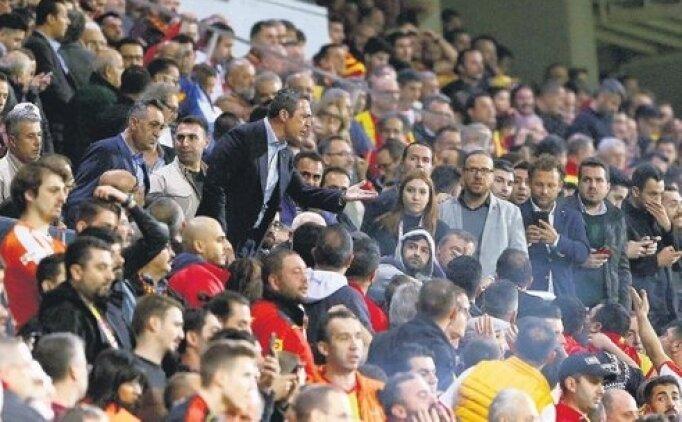 Ali Koç ve Göztepe taraftarının gerginliği; o anlar