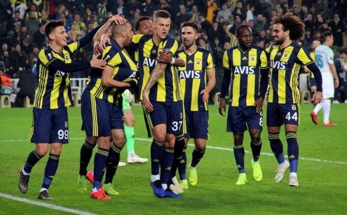 Fenerbahçe-Rizespor! Muhtemel 11'ler