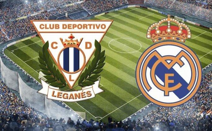 Leganes Real Madrid maçı canlı hangi kanalda? Leganes Real Madrid saat kaçta?