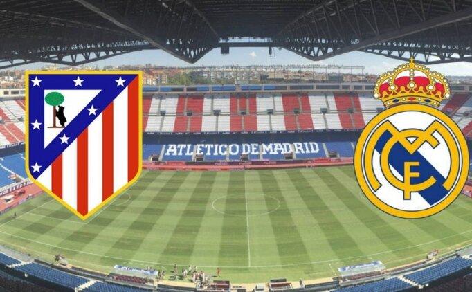 Atletico Madrid Real Madrid maçı canlı hangi kanalda? Atletico Real Madrid maçı saat kaçta?