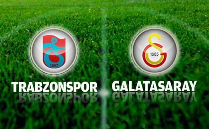 TS - GS maçı golleri izle, Trabzonspor Galatasaray maçı özeti
