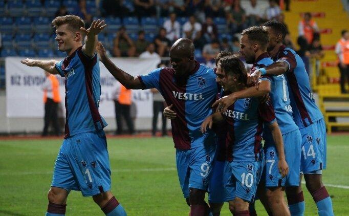 Trabzonspor-Gençlerbirliği! Muhtemel 11'ler